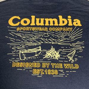 Columbia Outdoors Tshirt size Medium